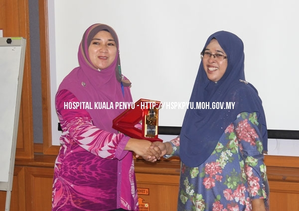 Lawatan Benchmarking Akreditasi Hospital Papar ke HKP 2015