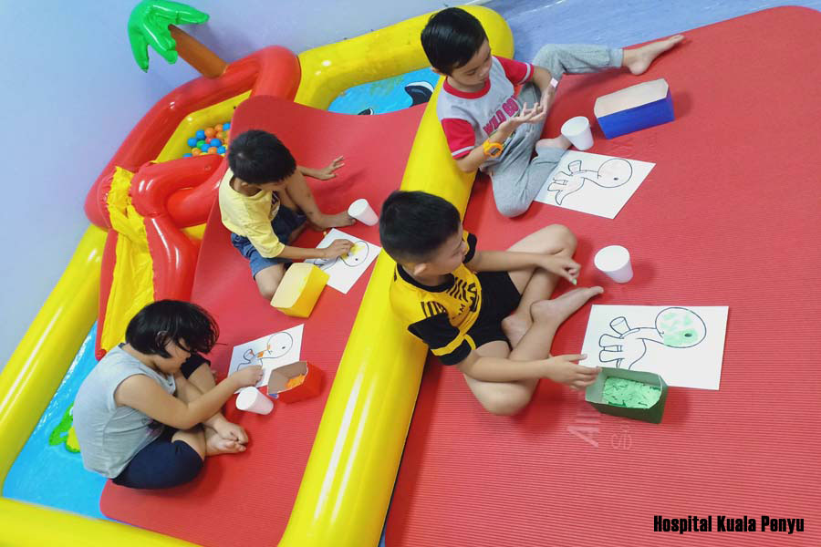 Children Group Therapy Hospital Kuala Penyu 2019