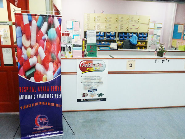 Antibiotic Awareness Week - Pharmacy HKP 2016